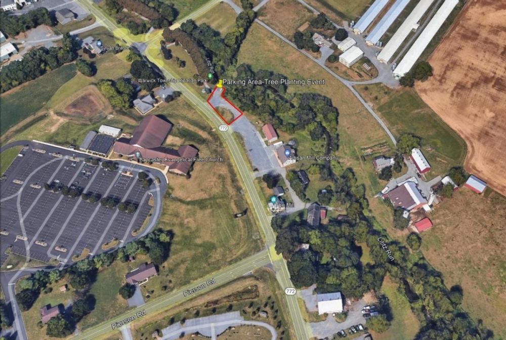 Riparian Park Planting Parking image